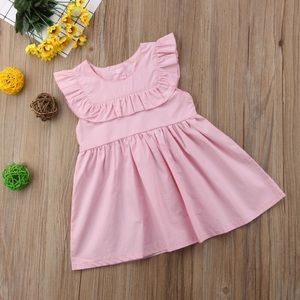 Other - 🆕Toddler Baby Girls Ruffle Dress